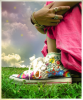 Rainbow Converse/Chucks