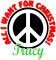 All Tracy wants for Christmas is Peace
