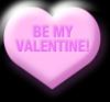 be my valentine heart