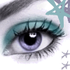Turquoise and Blue Eye