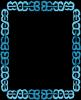 2 color blue frames