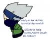 help kakashi rule the world!